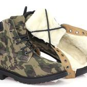 Стильные утепленные  ботинки все размера moro
