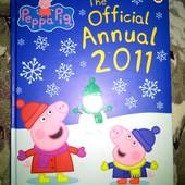 Книга-журнал свинка Пеппа!!!