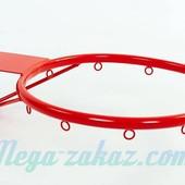 Баскетбольное кольцо 30см с упором (корзина баскетбольная): диаметр трубы 12мм
