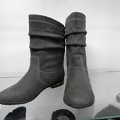 Кожаные демисезонные ботинки 36р