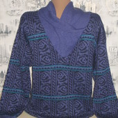 Симпатичный мужской свитер р-р 44-46