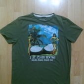 Фирменная футболка XL