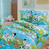 Комплект детского постельного белья Далматинцы, бязь ГОСТ