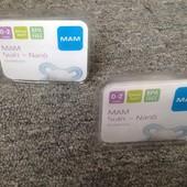 Ортодонтическая пустышка МаМ Smart-Nano 0-2 мес. Италия.