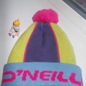 O'neill Италия шерсть фирменная шапка шапочка для девочки