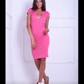 Платье р-ры 40-50 8 цветов