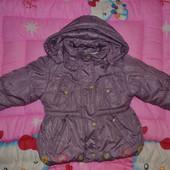 Теплая курточка от 3 лет