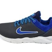 Подростковые кроссовки Nike Air 40 blue (реплика)