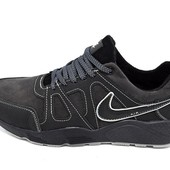 Кроссовки Nike Air 46 black gray (реплика)