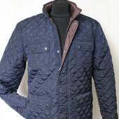 Стеганная мужская куртка демисезон размер 46-48