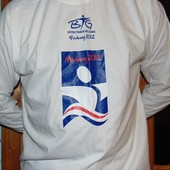 Фирменная футболка-реглан худи  длинний рукав  Fruit of the Loom.хл-2хл .