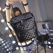 Стеганые дутые рюкзаки для модных девушек