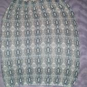 отличная теплая юбка next р.12 М 38 40