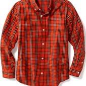 Отличная рубашка Old Navy 6-7, 8лет. Хлопок. Америка