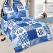 Комплект детского постельного белья Мореход, поплин