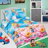 Комплект детского постельного белья Медовая фея, поплин