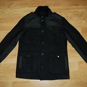 George (S) стильное шерстяное пальто