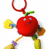 Развивающая игрушка-подвеска Волшебное яблокотс вибрацией, Tiny Love