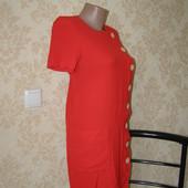 Yves Saint Laurent платье красного цвета 38-размер.Франция. Оригинал