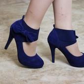 Туфли 3 цвета с резинкой Т69