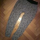 Модные легкие укороченные штаны, свободного кроя F&F 8-9 лет, отл.сост.с карманами, замеры внутри!!!