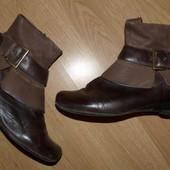 Стильные кожаные ботиночки, р.37
