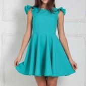 Яркое платье клеш 9 цветов р-ры 40-50