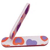 Мини-пилочка для ногтей 2-х сторонняя с абразивным покрытием