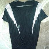 классная блестящяя блуза футболка от Only, p.S