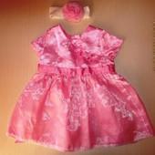Сказочное платье с повязкой для принцессы Adams