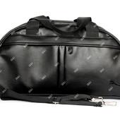Модная удобная спортивная сумка в стиле Puma (Puma black)