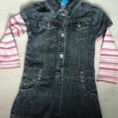 фирменное платье на 2-3 года