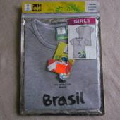 Футболка для девочки с Германии 134\140
