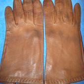 Отличные, перчатки натуральная кожа.