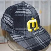 Теплая кепка на ОГ 56см Германия Takko Fashion