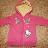Кофта Hello Kitty для девочки 6-9мес.