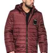 Мужская демисезонная куртка теплая с капюшоном. Мэлвин
