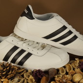 Мужские кроссовки Adidas Gazelle Адидас газели  черные и белые