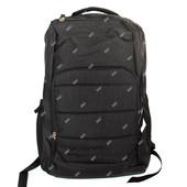 Мужской стильный удобный рюкзак черного цвета (50214)