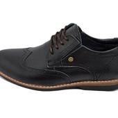 Мужские туфли Multi Shoes luxury rb-17 черные