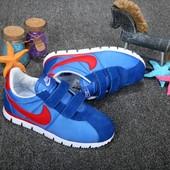 Кроссовки Nike Cortez Blue/Red, детские, р. 30-35, код fr-970