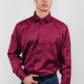 Рубашка нарядная бордовая Fra 878-54