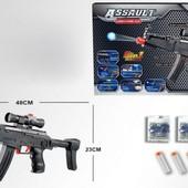 Автомат AK45-1 с мягкими гелевыми пулями и присосками 2в1
