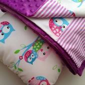 Плюшевое одеялко