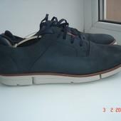 Туфли мокасины кроссовки Clarks-trigenic 7,5/27,5 см