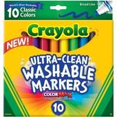 Crayola Крайола смывающиеся маркеры широкая линия