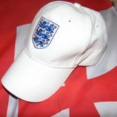 Спортивная фирменная кепка Зб Англии .56-58