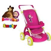 Smoby Прогулочная коляска для куклы Маша и Медведь 254001