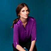 Блуза, вискоза ТСМ (гермакния) размер 40 евро наш 48-50