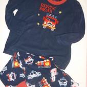 пижама флис на 5-6 лет